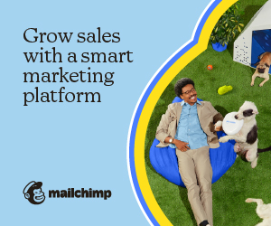 Try Mailchimp today