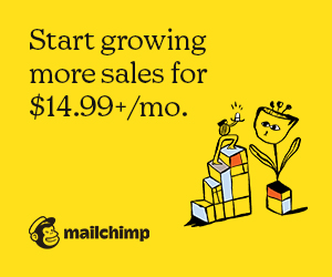 Grow sales with Mailchimp's marketing smarts.