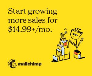 Grow sales with Mailchimp's marketing smarts.