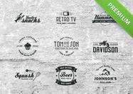 Vintage-badge-vector-pack