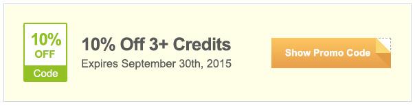 SAVE 10% OFF 3+ CREDITS - iStock Promo Code