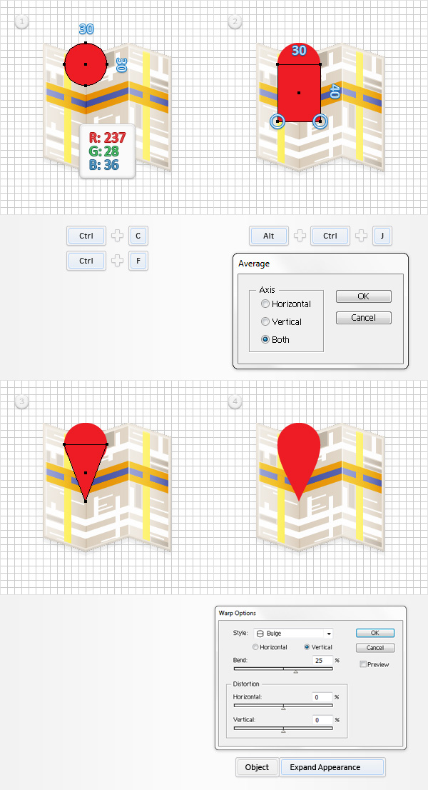 design a map with adobe illustrator