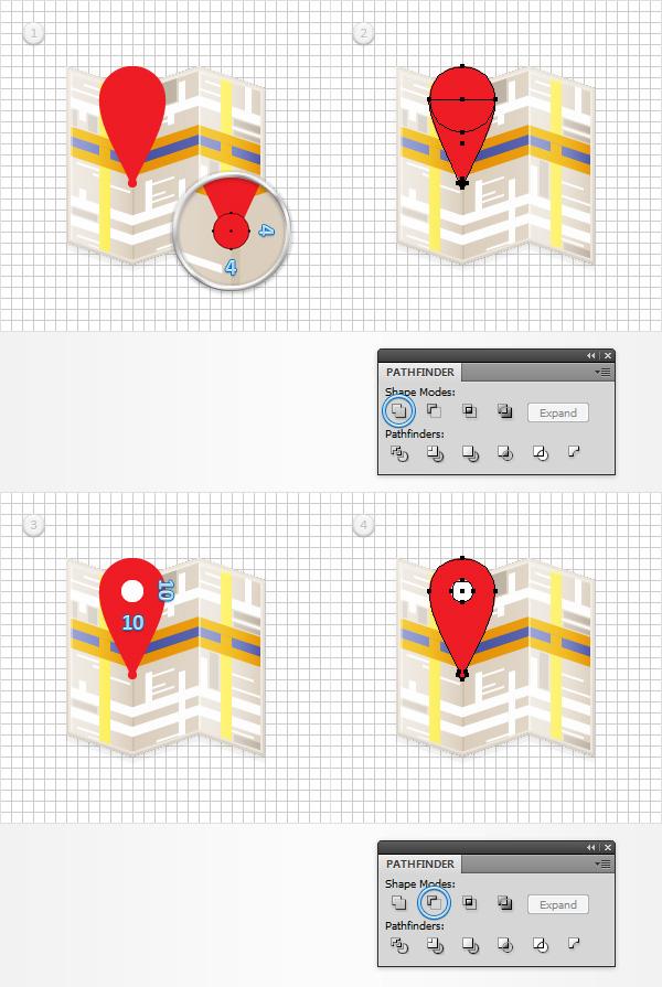 create map logo