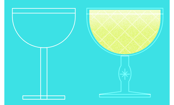 How to make a drink vector in Illustrator