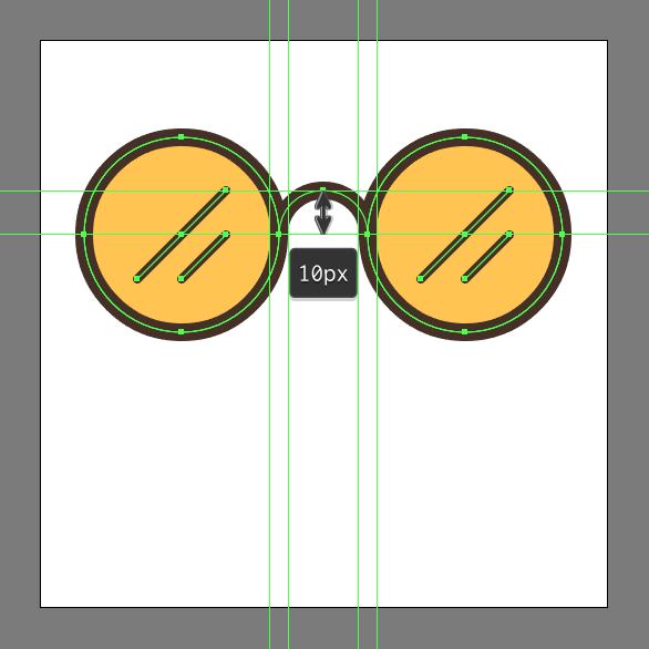 How to make hipster glasses in Adobe Illustrator