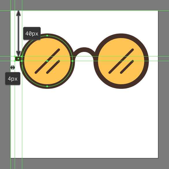 hipster glasses design tutorial