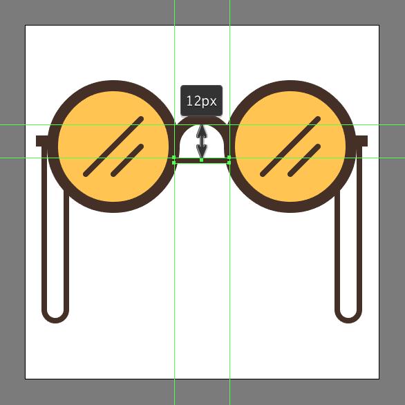 hipster sunglasses design tutorial
