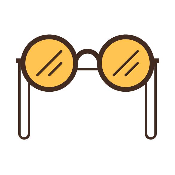 Tutorial on how to design hipster glasses in Adobe Illustrator