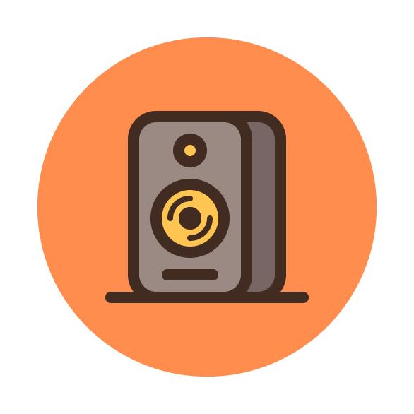 How to design a studio monitor icon in adobe illustrator