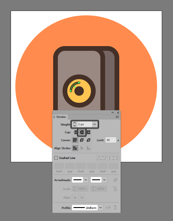 How to illustrate sound system speaker in Adobe