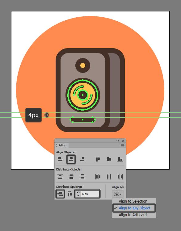 sound monitor vector tutorial