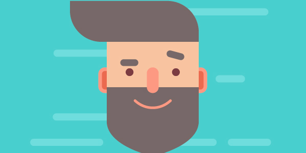 How to design and create hipster character avatar in Adobe Illustrator