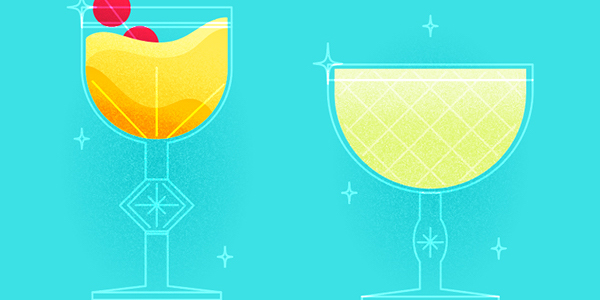 How to design a cocktail in Illustrator