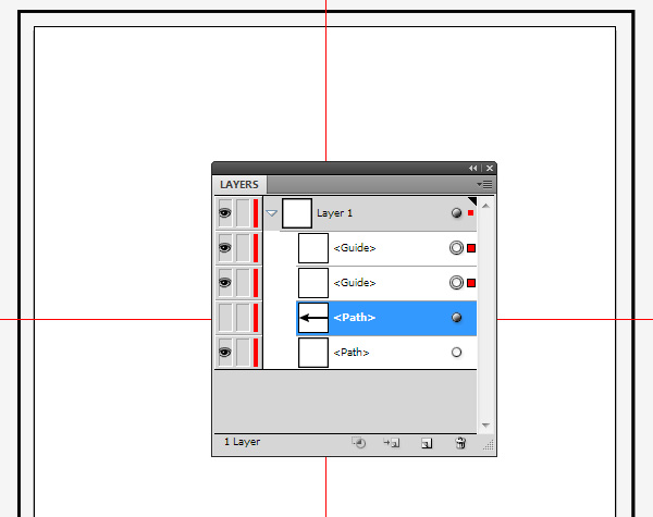Abstract Mirroring Adobe Illustrator CC
