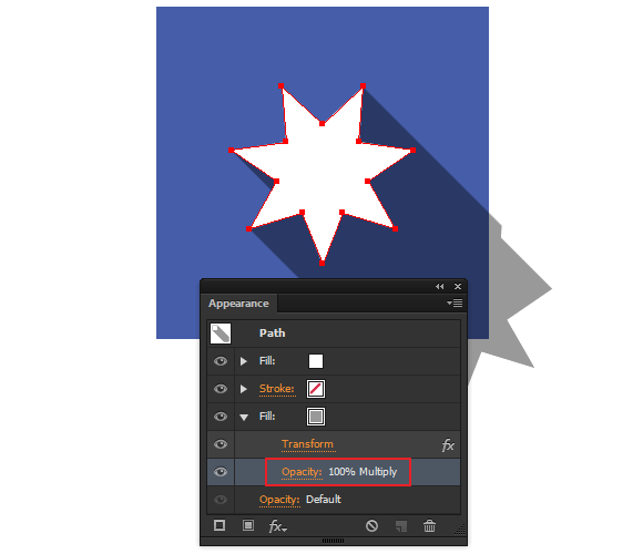 How to create a long shadow effect using Adobe Illustrator CC