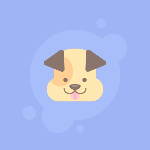 How-to-Draw-Cute-Dog-Icon-Adobe-Illustrator