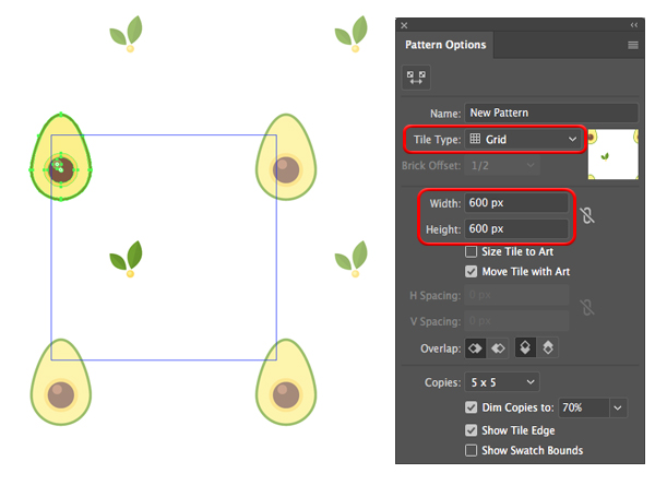 how to make avocado in adobe illustrator