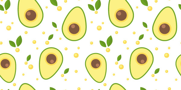 How to design a seamless avocado pattern with Adobe Illustrator