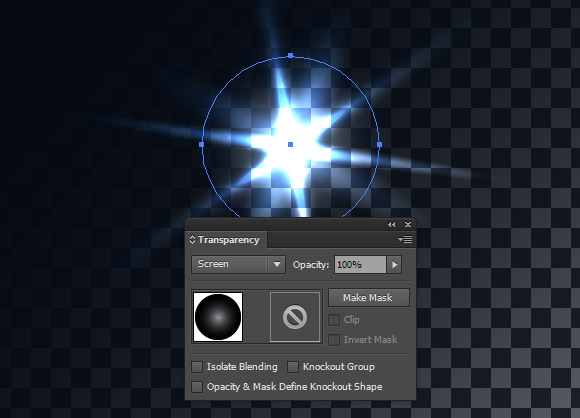 lens flare vectors illustrator how to