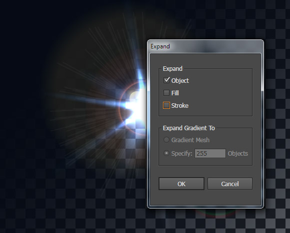 lens flare image tutorial