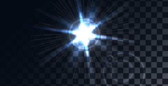 lens flare design