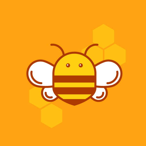 how to create a Honey Bee Logo in Adobe Illustrator