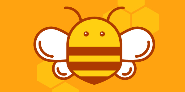 Honey Bee Logo Tutorial for Adobe Illustrator