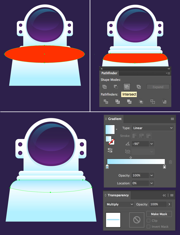 how to make astronaut in adobe illustrator