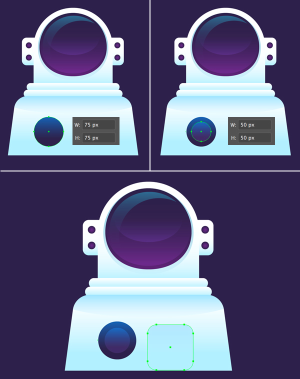 how to design astronaut in adobe illustrator