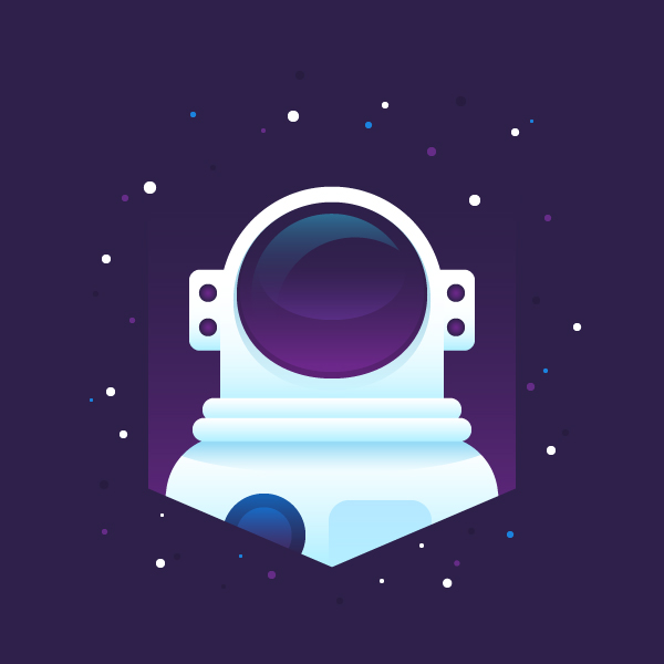 how to create an astronaut vector or astronaut illustration in adobe illustrator - easy illustrator tutorial