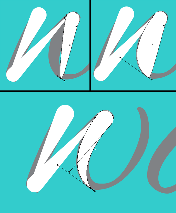 Water font tutorial