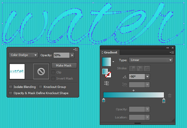 water font adobe illustrator cc how to