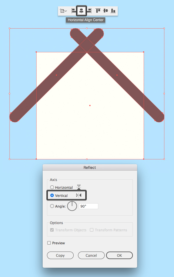 How to make a birdhouse in Illustrator