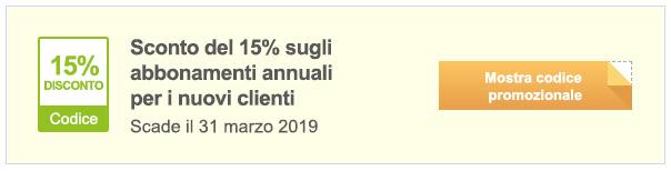 Codice promozionale iStock! - Risparmia il 15% sugli abbonamenti annuali - Codice promozionale iStock
