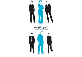 Business Vector People Silhouettes