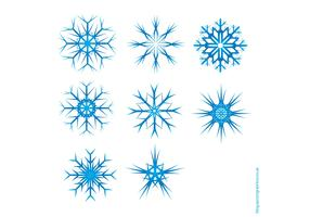 Vector Snowflake Pack