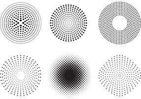 Vector Dots and Halftone Pattern