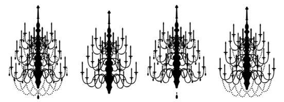 vector chandeliers