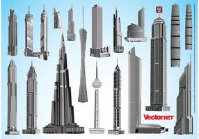 Skyscraper Vector Packs