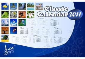 Classic Calendar for 2011