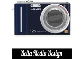 Lumix Camera Vector Art