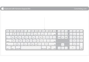 Mac Apple keyboard