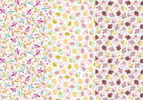 Cupcakes and Cones Illustrator Patterns