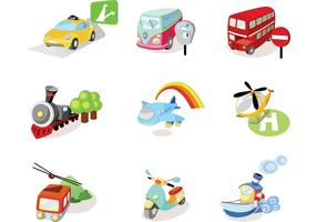 Transportation Vector Pack Two