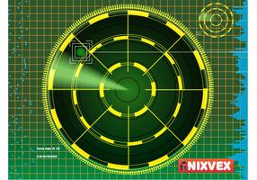 "NixVex ""Radar Screen"" free Vector"
