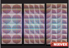 "NixVex ""OpArt Tiles"" Free Vector"