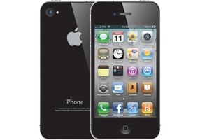 Free iPhone 4 Vector