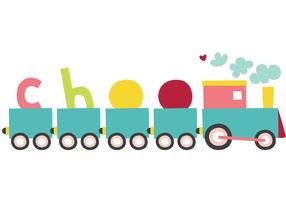 Free Vector Choo Choo Train