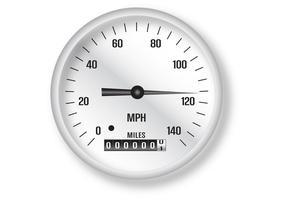 Klassischer Tachometer