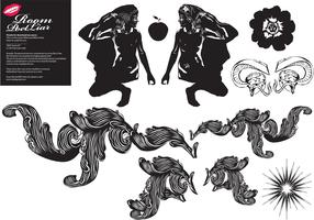 FREE BLACK WHITE VECTOR # 2